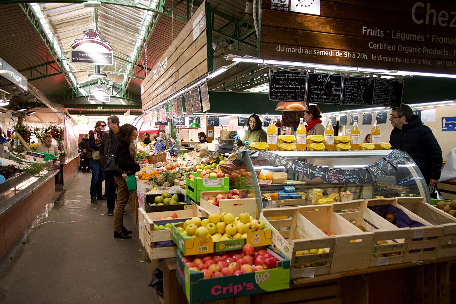 Oldest Covered Market in Paris Marche des Enfants Rouge