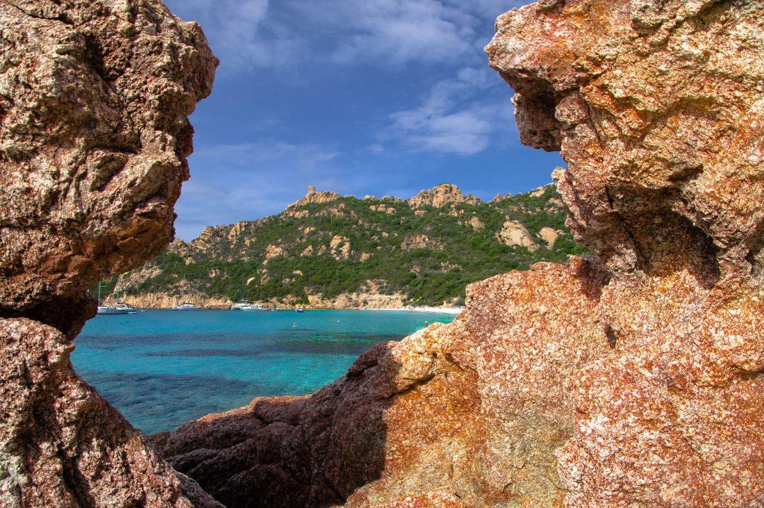 Best beach in Corsica Plage de Roccapina