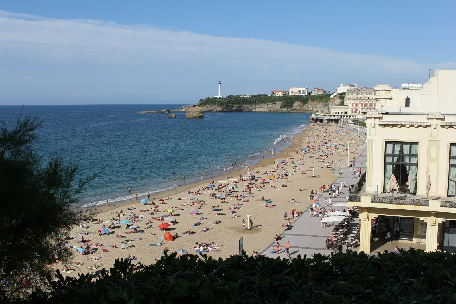 Best beach in biarritz france