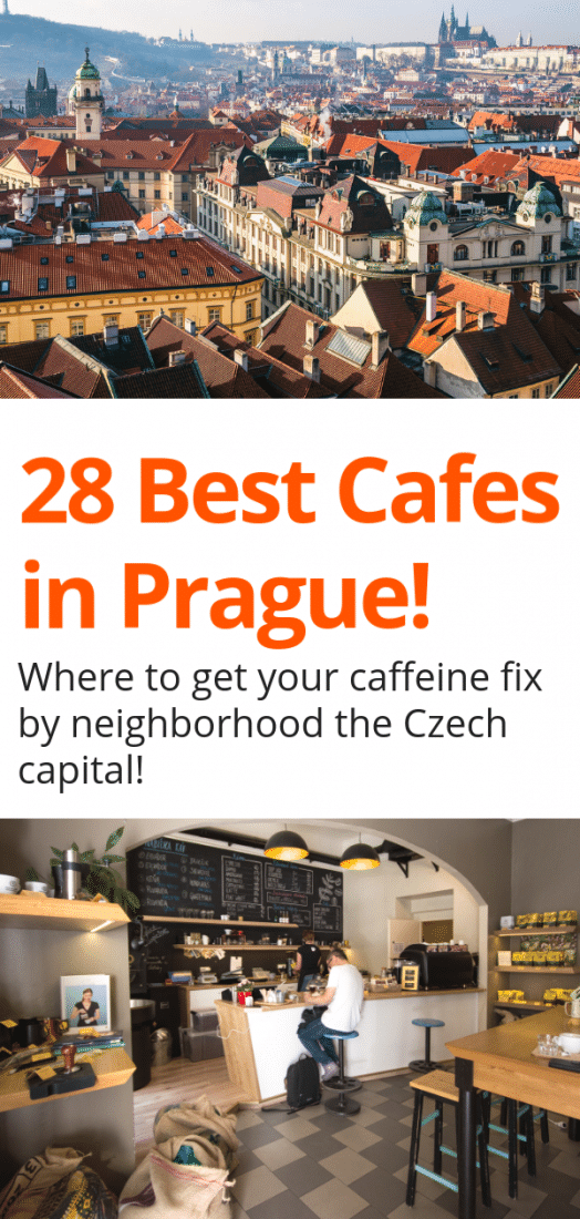 Best Cafes in Prague - Visiting Prague and need a caffeine fix? Looking for the best Prague cafes? This guide, written by locals, is for you! #prague #cafes #czechrepublic #europe #europeantravel #travel