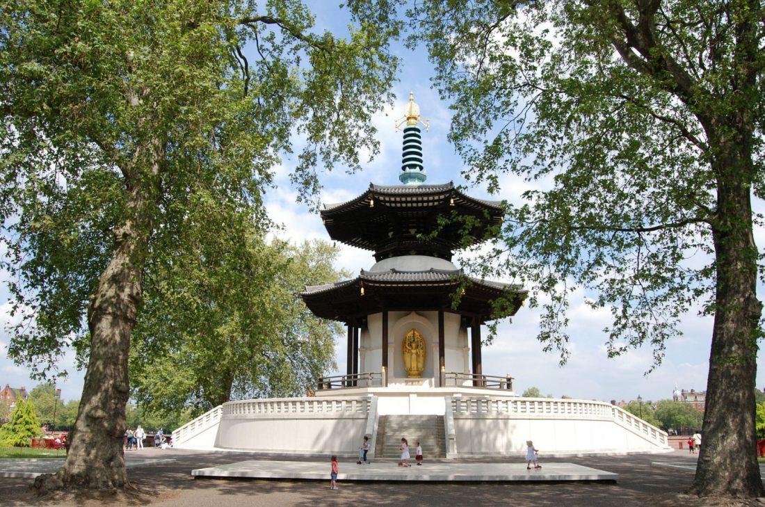 quiet places in london battersea park