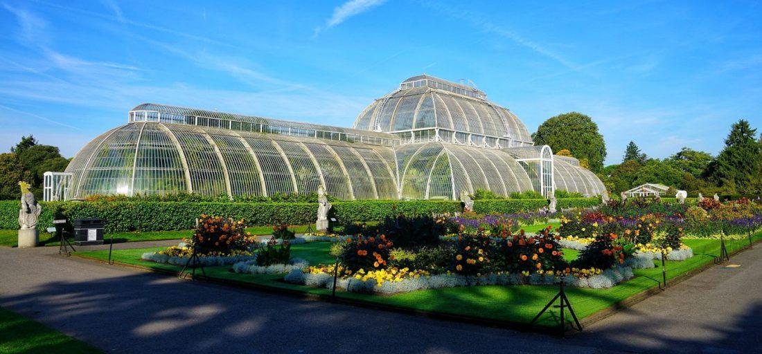 quiet places in london kew gardens