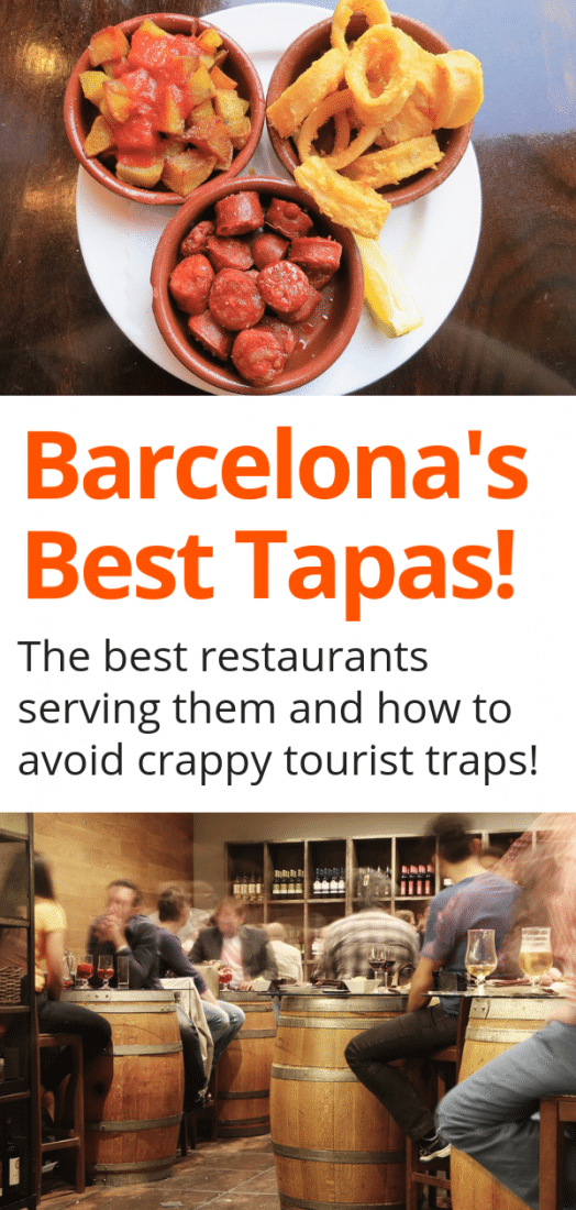 Heading to Barcelona Spain? Then get ready to feast on a wide array of delicious tapas...if you choose the right restaurants that is! Here are the best restaurants in Barcelona for tapas (and some tips on how to avoid the crappy tourist traps)! #tapas #barcelona #spanish #spain #europe #travel #europeantravel