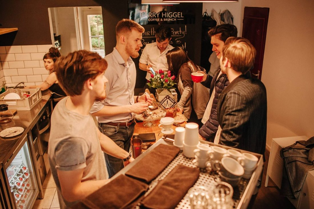 barry higgels coffeehouse prague
