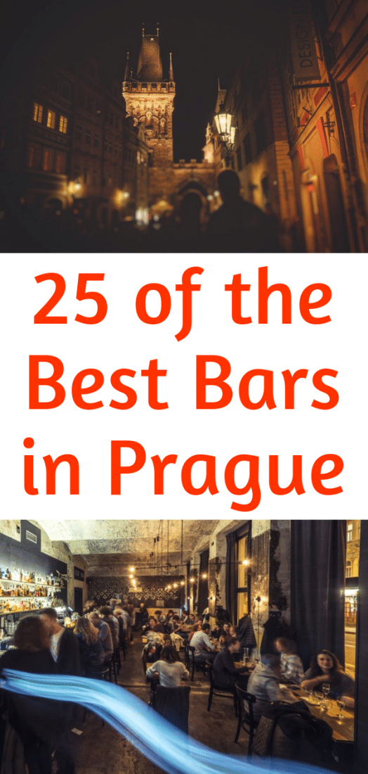 Ready for a big night out in Prague? Here are our 25 favorite bars in Prague! Prague nightlife is awesome and no matter what kind of bar you're looking for you can pretty much find it in Prague! Here is the cream of the crop! #prague #czechrepublic #europe #travel #europeantravel #nightlife #centraleurope