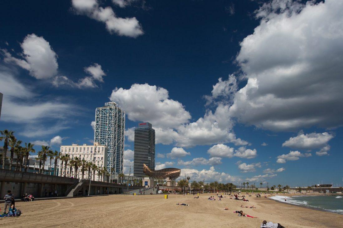 best beaches barcelona Somorrostro