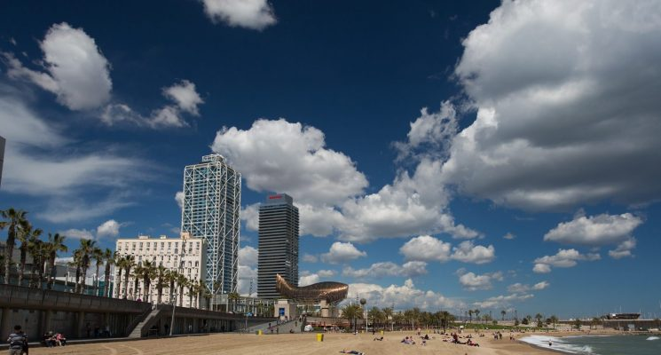 best beaches barcelona Somorrostro
