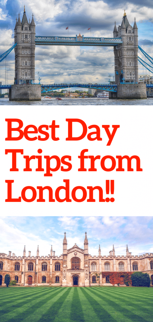 Visiting London and want to explore the UK beyond the big city? We've consulted top travel experts to compile a list of the best day trips from London! Here are 21 places you can visit on an easy day trip from London England! #london #europe #travel #europeantravel #england #unitedkingdom #uk