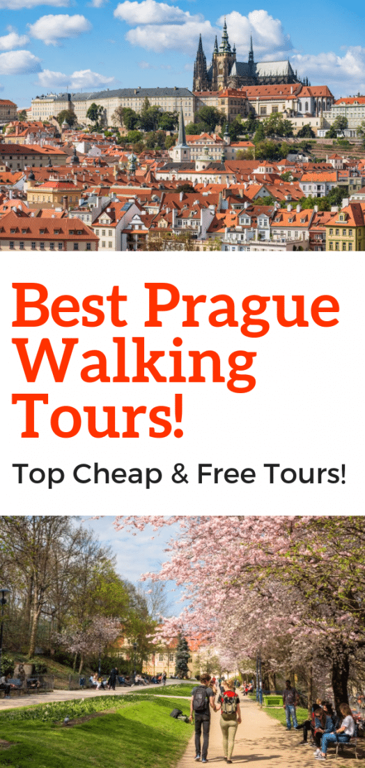 Want to cover some of the best things to do in Prague in a few hours? A walking tour might be your best bet! Here are the best cheap and free walking tours in Prague!! #prague #czechrepublic #tours #europe #europeantravel #walkingtours #travel