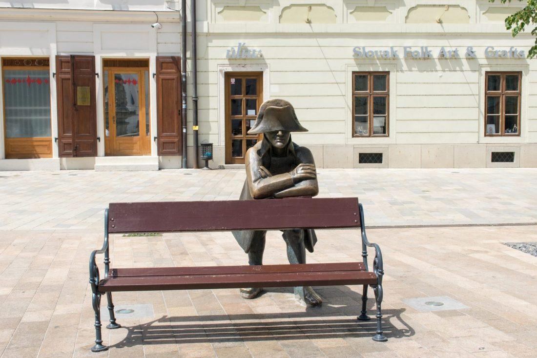 bratislava statue napoleon soldier