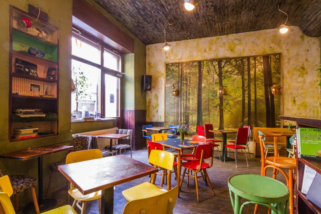 кафе в лесу Кафе в Праге