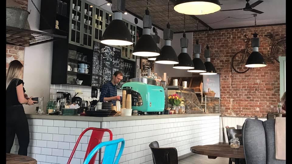 кофейный уголок пекарня