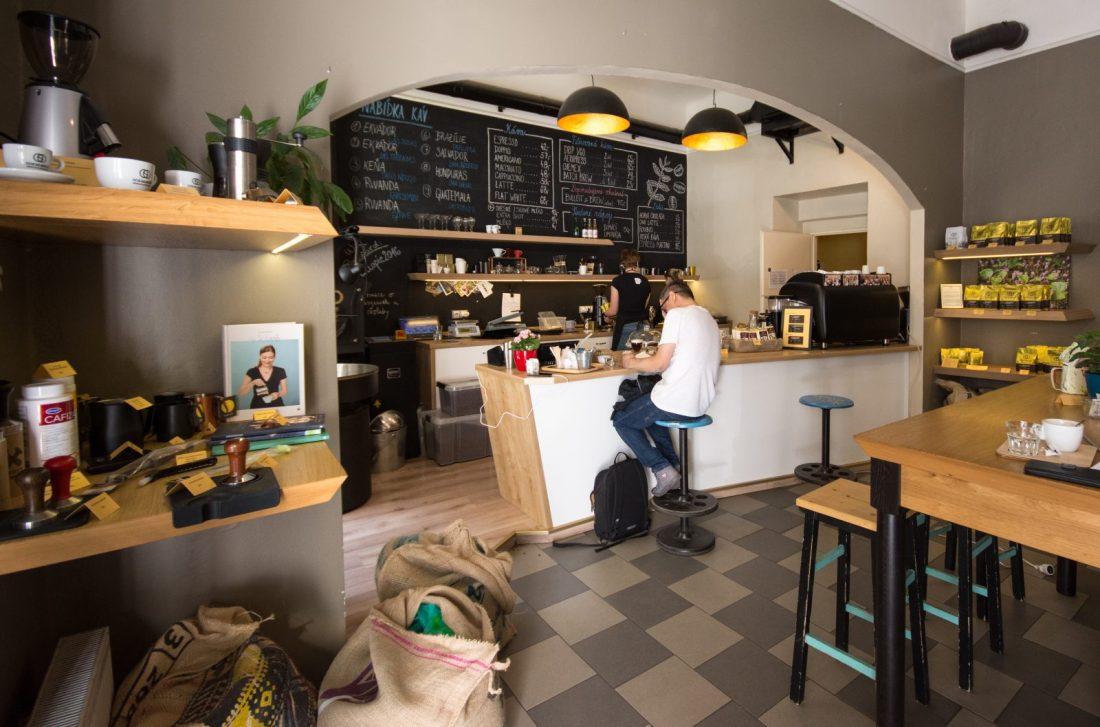 dos mundos cafe prague czech republic