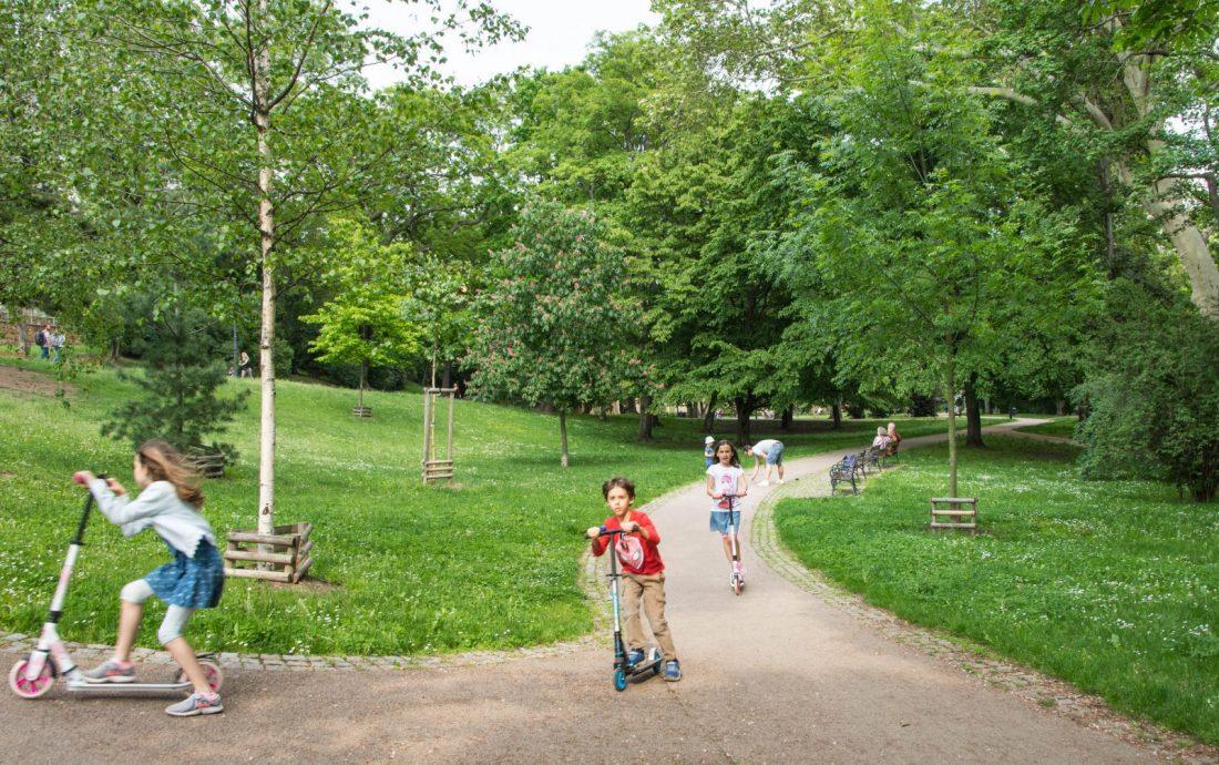 havlickovy sady park prague