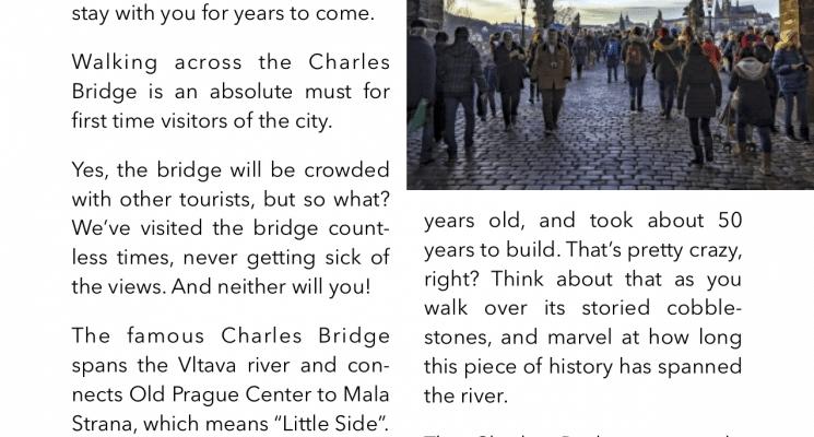 look inside prague ebook charles bridge