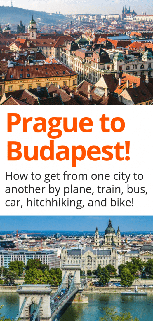 Prague to Budapest - Trying to figure out how to get from Prague to Budapest? Want to know if train, plane, bus, or car is the best option? Then this guide is for you! #prague #budapest #czechrepublic #hungary #europe #travel #europeantravel