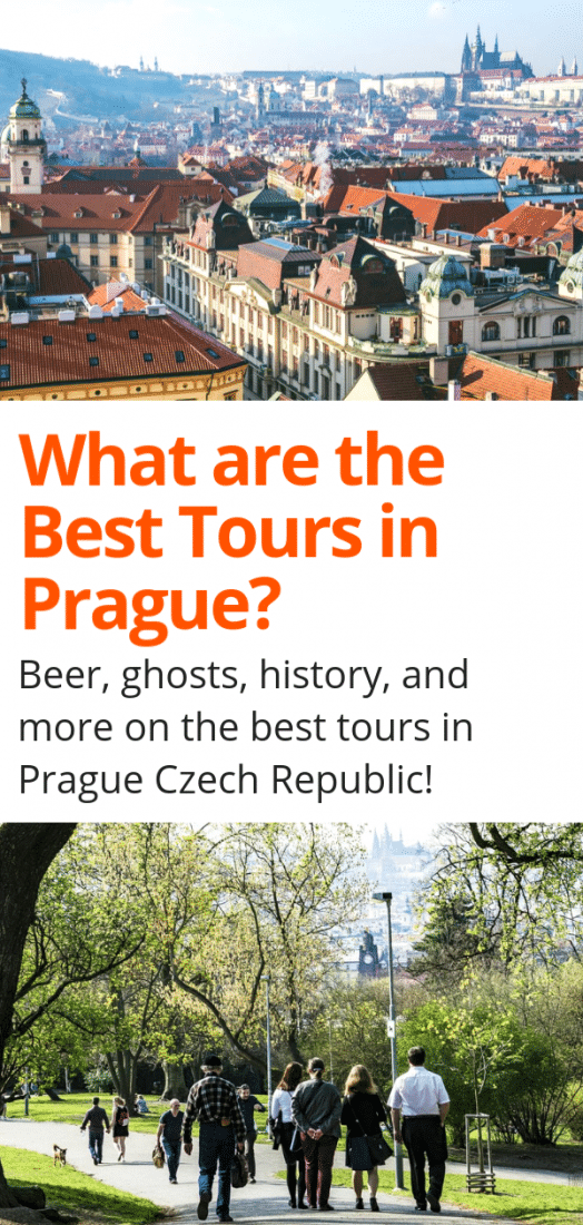 Visiting the Czech Republic and looking for the best tours in Prague? Here is your guide to the best Prague tours no matter what your interest. Beer, history, ghosts, getting off the beaten path in Prague, and more on these awesome tours! #prague #czechrepublic #europe #walkingtours #tours #europeantravel