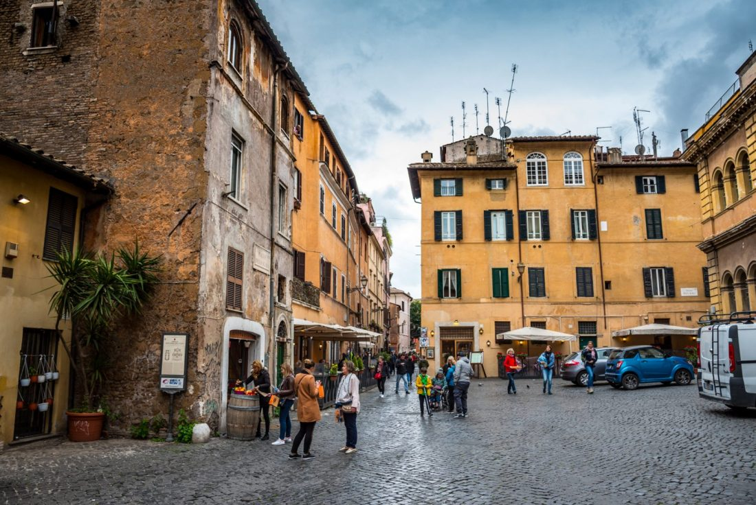 trastevere rome best neighborhood