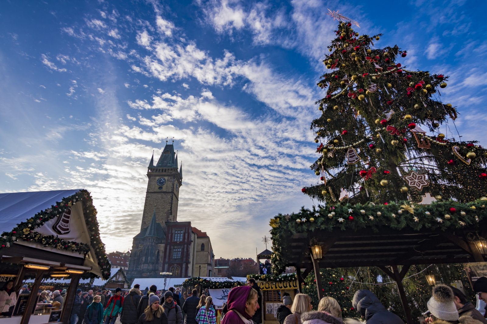 Prague Christmas Market Old Town Square