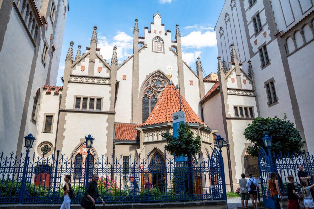 Maisel Synagogue Prague Jewish Quarter synagogues