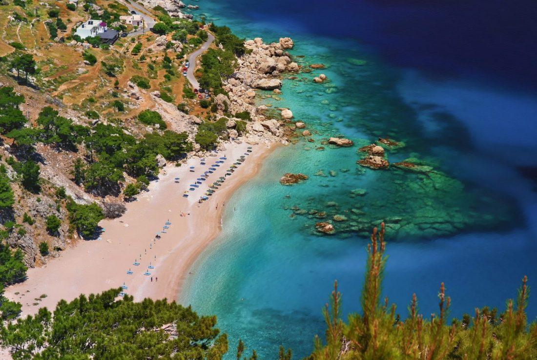 apella beach best beaches greece