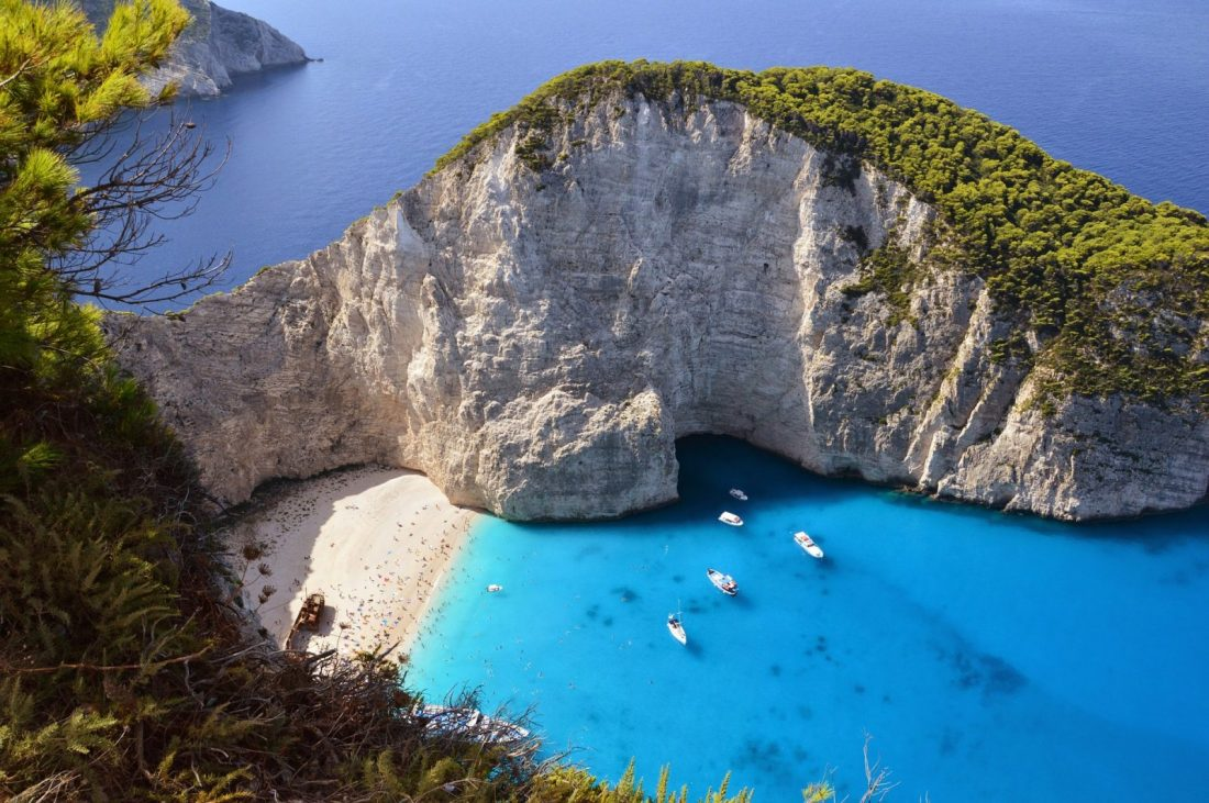 shipwreck cove best beaches greece