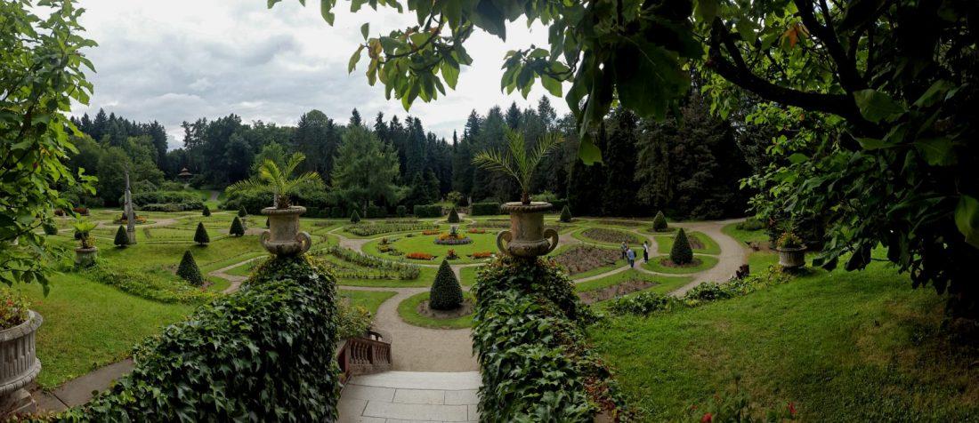 Konopiste Rose Garden