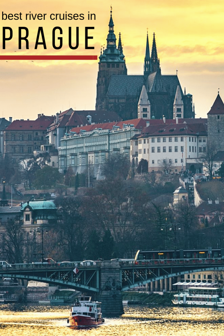 Visiting Prague and want to see the city in one of the most unique ways possible? Then a Prague River Cruise is a great option! See Prague in a way most people will never see it...from a boat! Here are the best Prague river cruises to choose from! #prague #czechrepublic #europe #travel #europeantravel