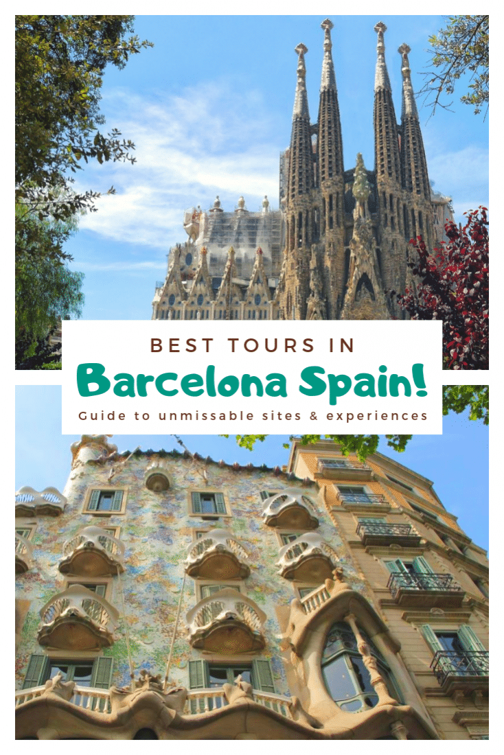 Don't miss out on Barcelona's best sites! Check out our guide for the best tours in Barcelona Spain. All the best things to do in Barcelona in one place! #barcelona #spain #europe #travel #europeantravel #tours