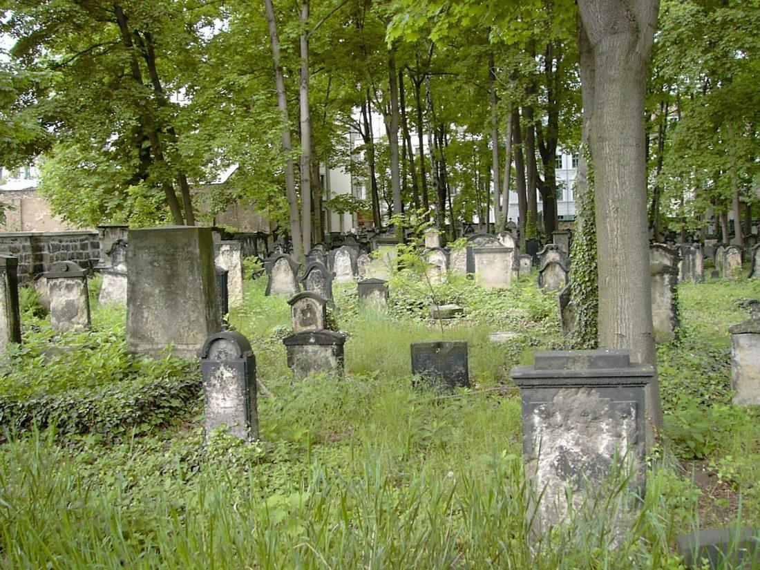 dresden old jewish cemetery