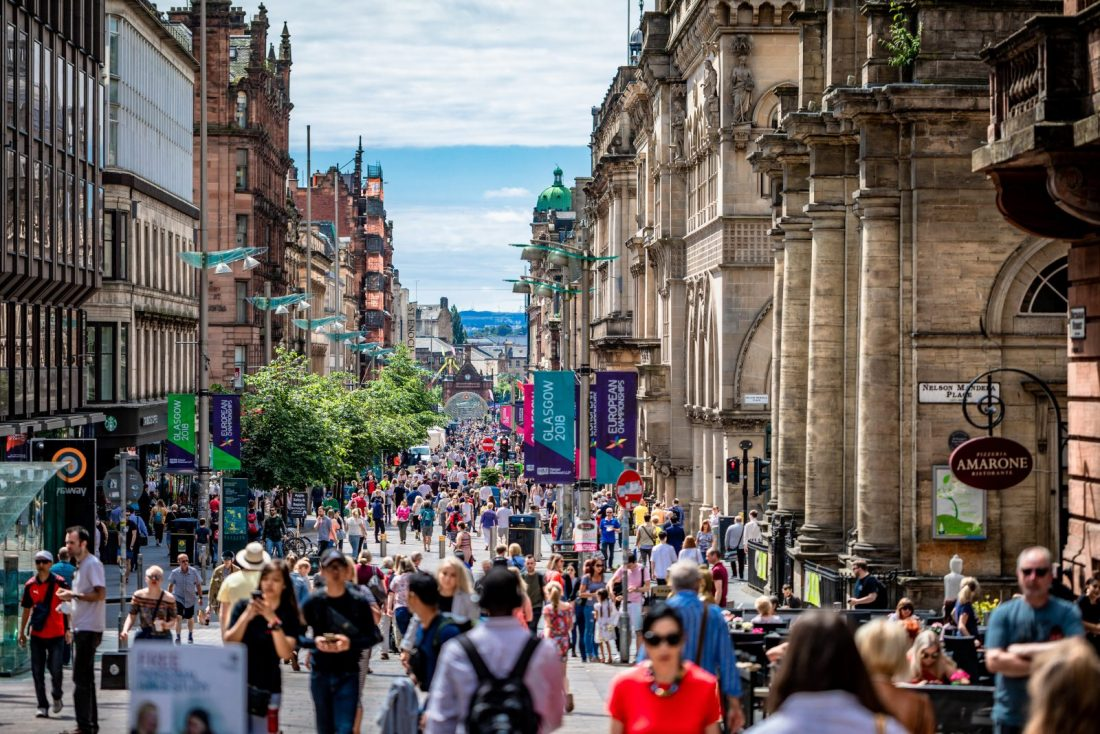 glasgow best cities in europe