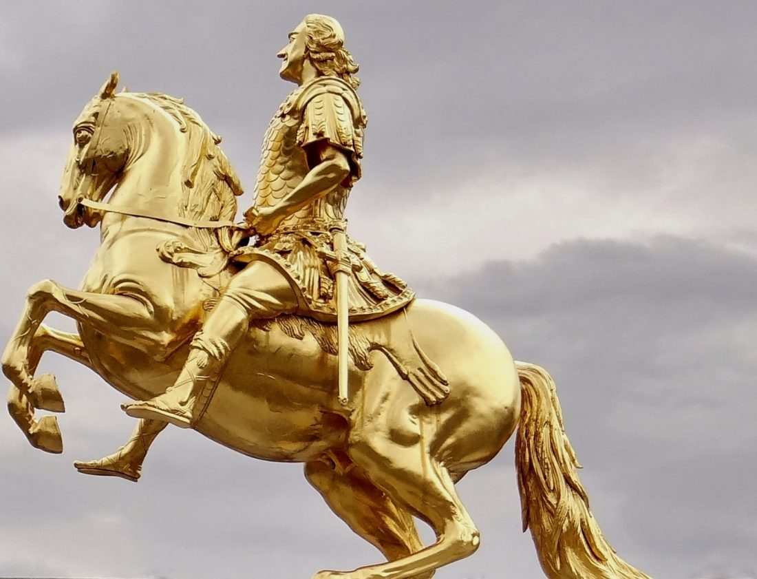golden horseman dresden germany