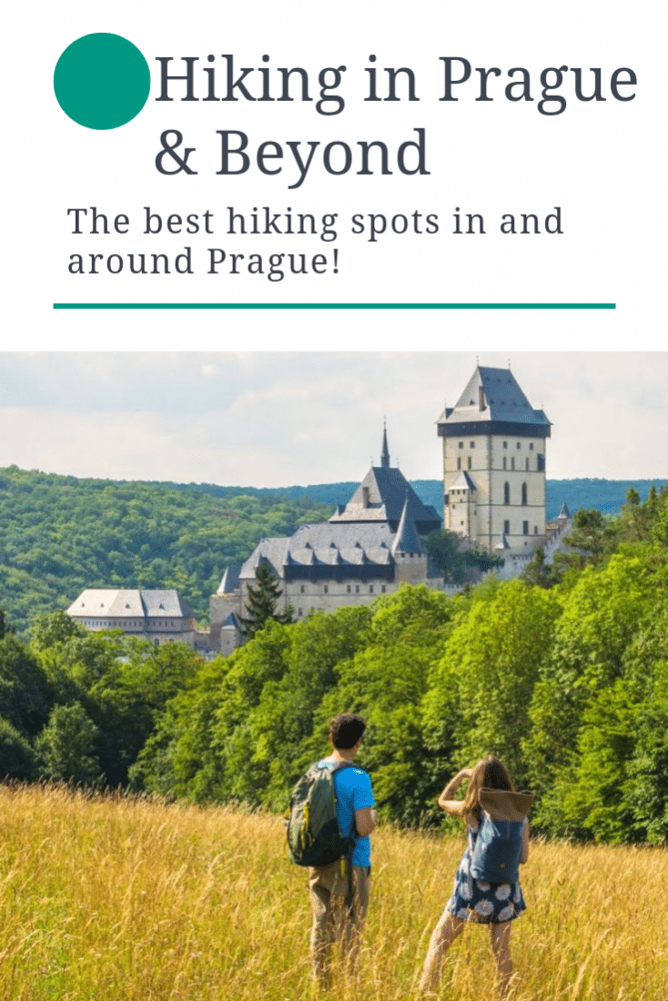 Visiting Prague and want to get outdoors? Finished doing all the best things to do in Prague? Then this guide to the best hikes in Prague (and beyond) is for you! Check our our Prague Hiking Guide for the best options for an outdoor day trip from Prague Czech Republic! #prague #czechrepublic #hiking #europe #europeantravel #travel