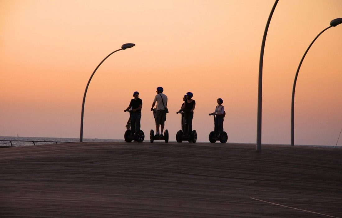 segway tour barcelona spain