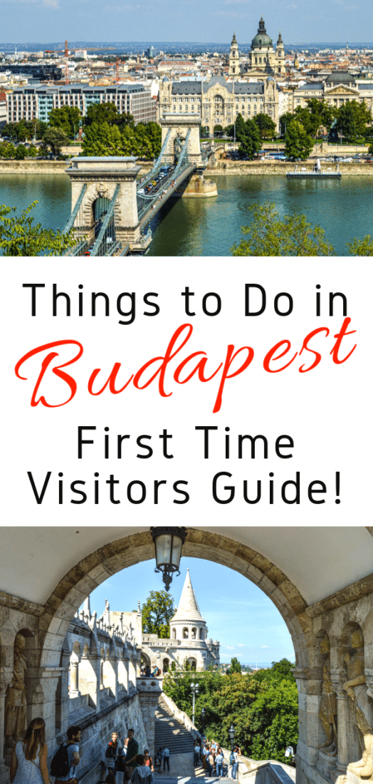 Here are the absolute top things to do in Budapest Hungary for first time visitors! See all the best things to do in Budapest plus get off the beaten path a bit and check out some truly unique sites! #budapest #hungary #europe #europeantravel #travel