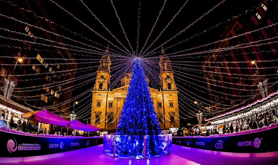 budapest christmas maket