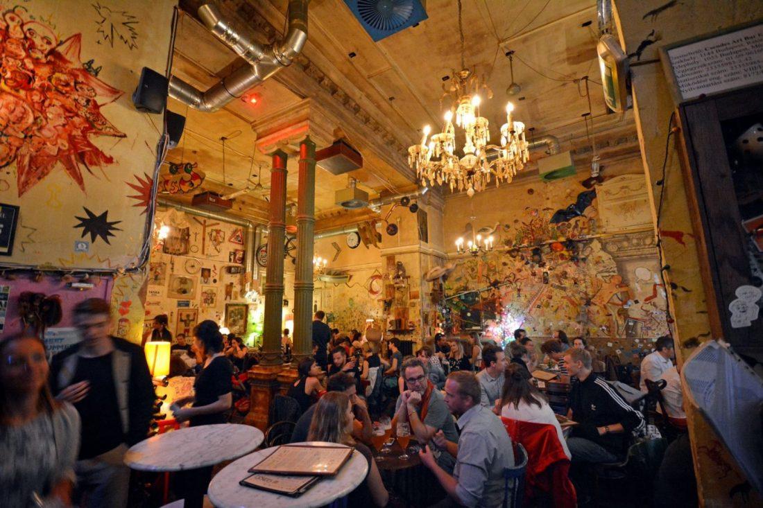 Csendes Létterem budapest ruin bars