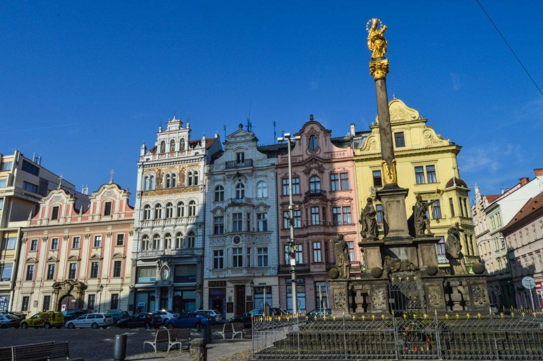 pilsen czech republic old town square