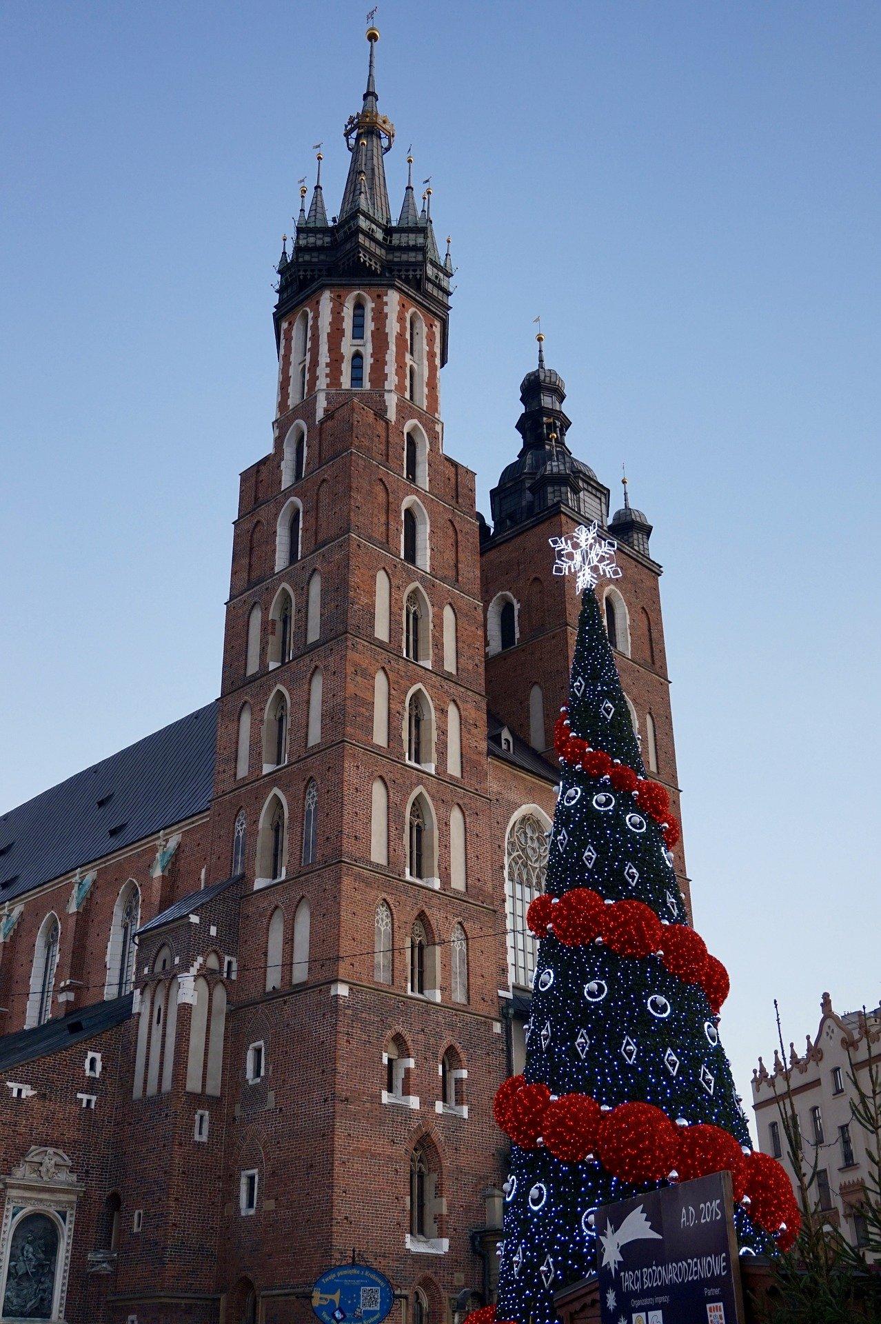 krakow poland christmas