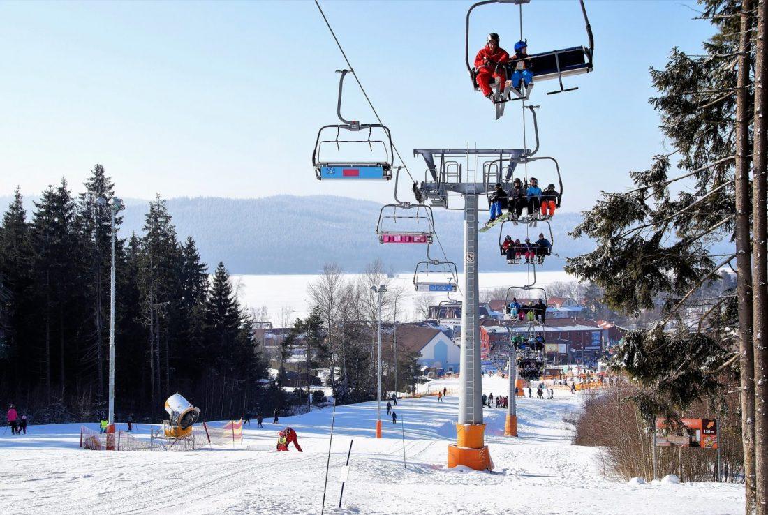 lipno skiing czech republic