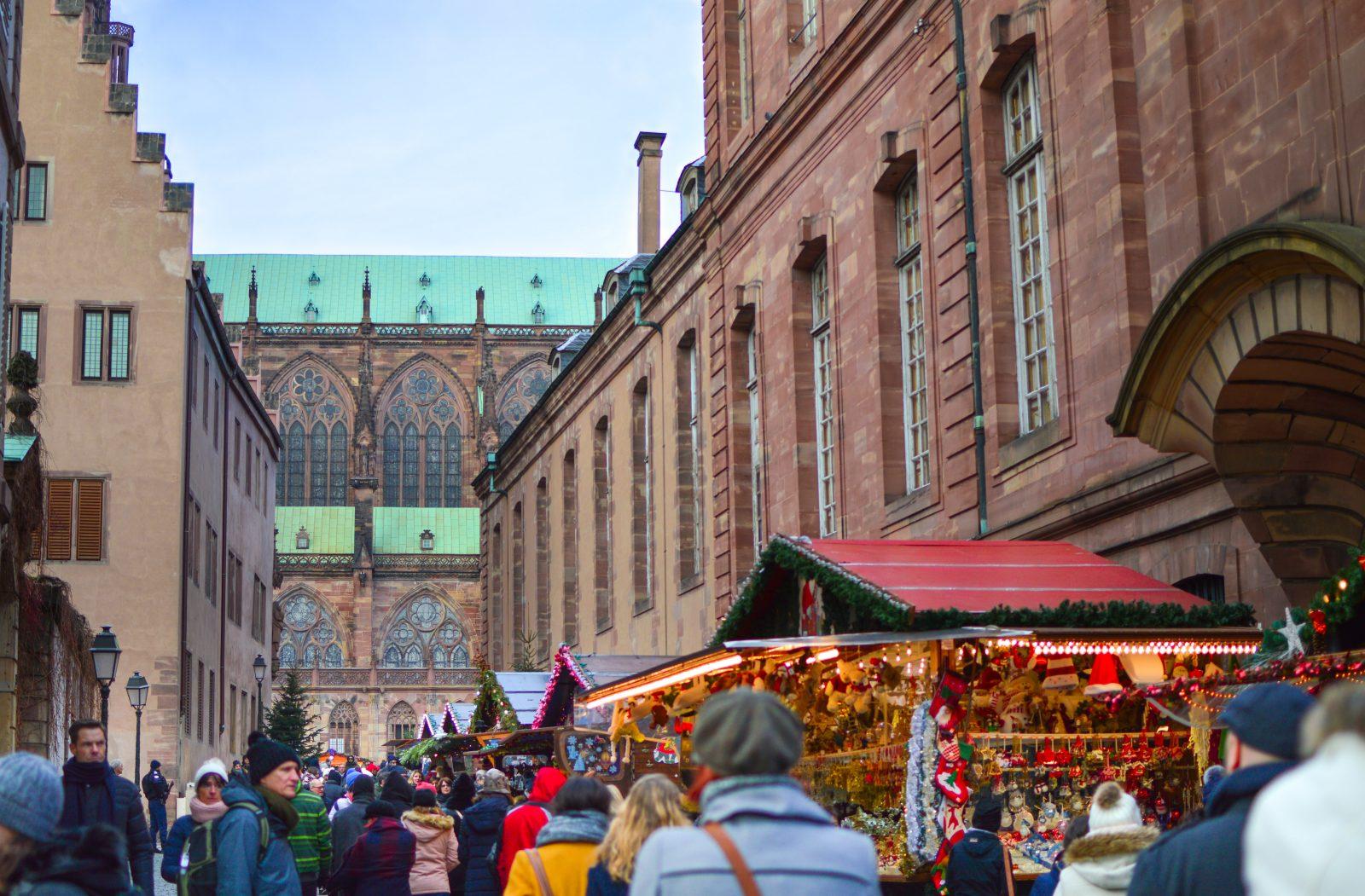 strasbourg christmas market festivities
