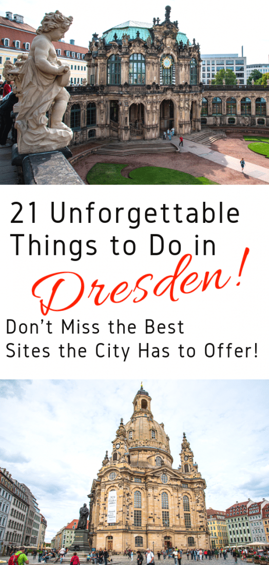 Looking for the best things to do in Dresden Germany?  Don't miss out with our guide to the top 21 unforgettable sites to see and things to do in Dresden! #dresden #germany #travel #europeantravel #europe