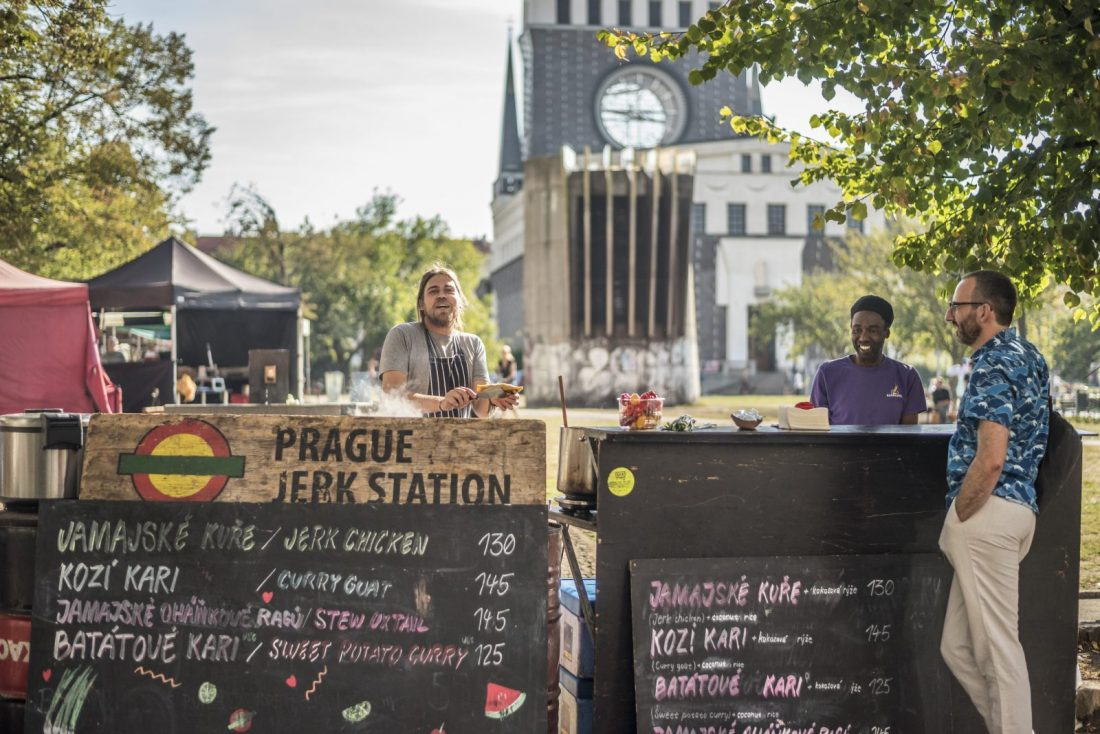 the best food markets in Prague