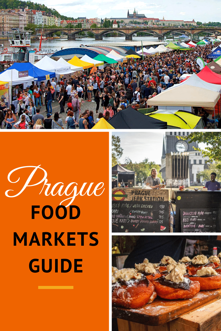 Prague food and farmers markets abound! There are loads of farmers markets and food markets in Prague where you can get a glimpse of the local food scene. Here is our guide to getting your foodie fix at Prague's markets!