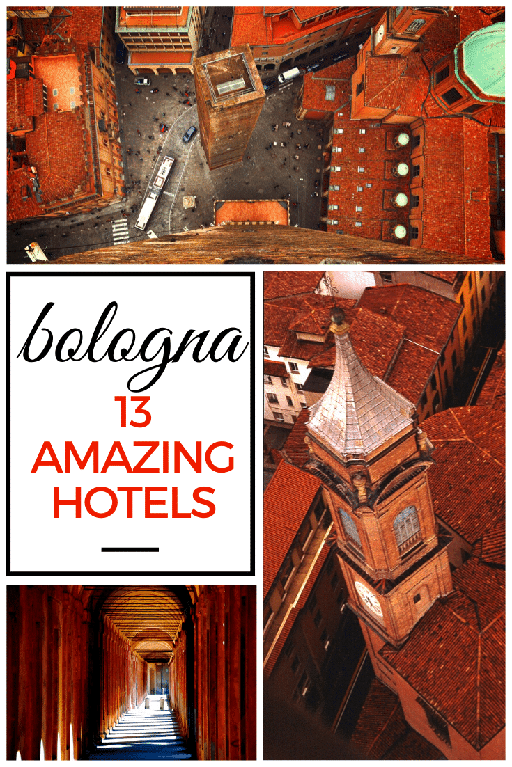 13 Amazing Bologna Hotels - From Luxury to Budget. No matter if you're traveling lavishly or on a shoestring, this guide has the perfect Bologna hotel for you!