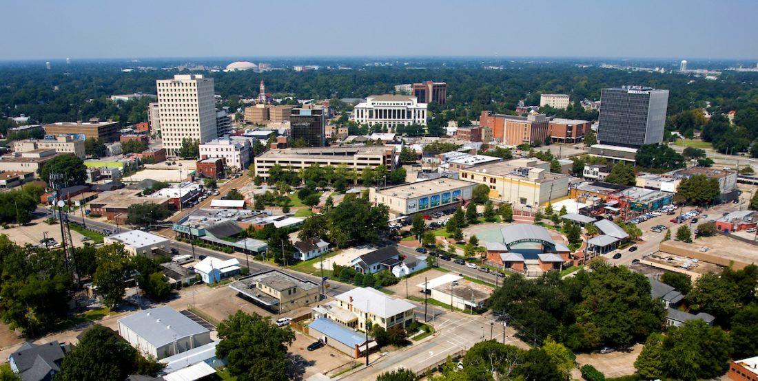 Downtown Lafayette louisiana