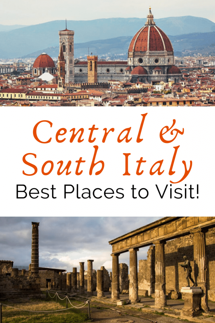 Italy is one of the richest countries as far as amazing travel destinations goes! There are so many options when it comes to places to visit. Here is a guide to the best places to visit in Central and South Italy!