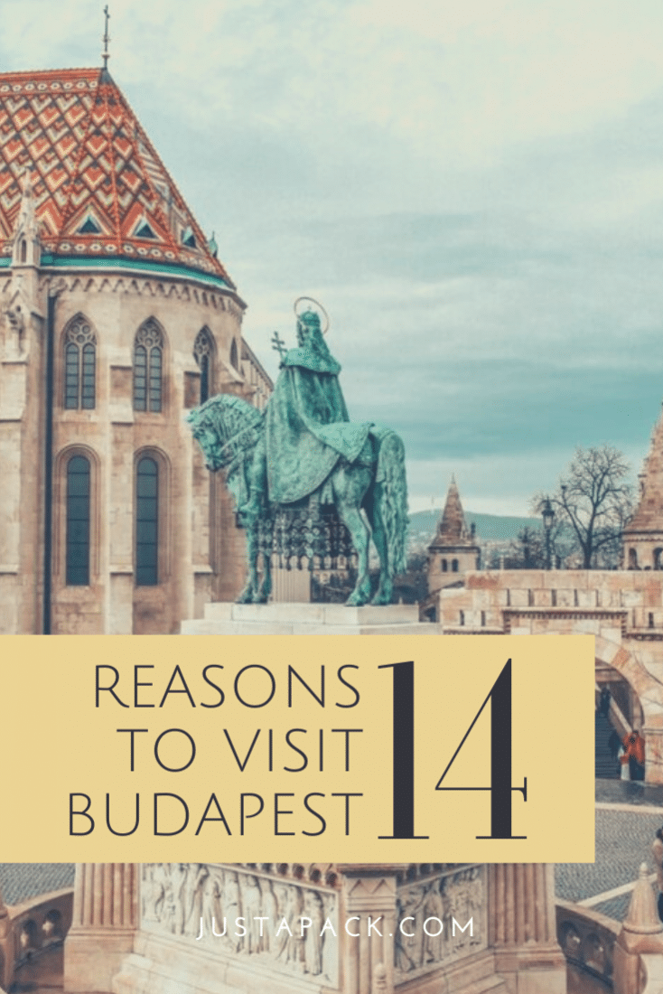 There are loads of things to do in Budapest. You'll never get bored in this awesome city! If you're not convinced yet, then here are 14 reasons to visit Budapest!