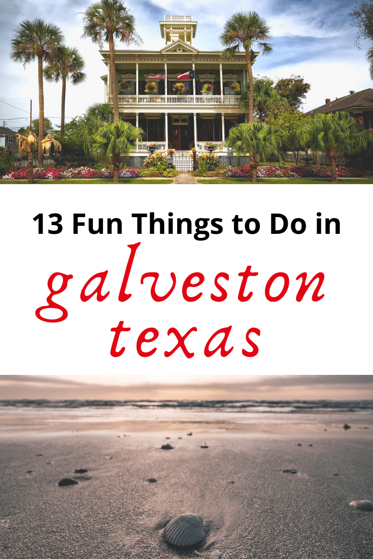 Looking for some super fun things to do in Galveston Texas? Then this guide is for you! From the Strand to Galveston Beach and everything in between, check out this list to have a great time in Galveston!
