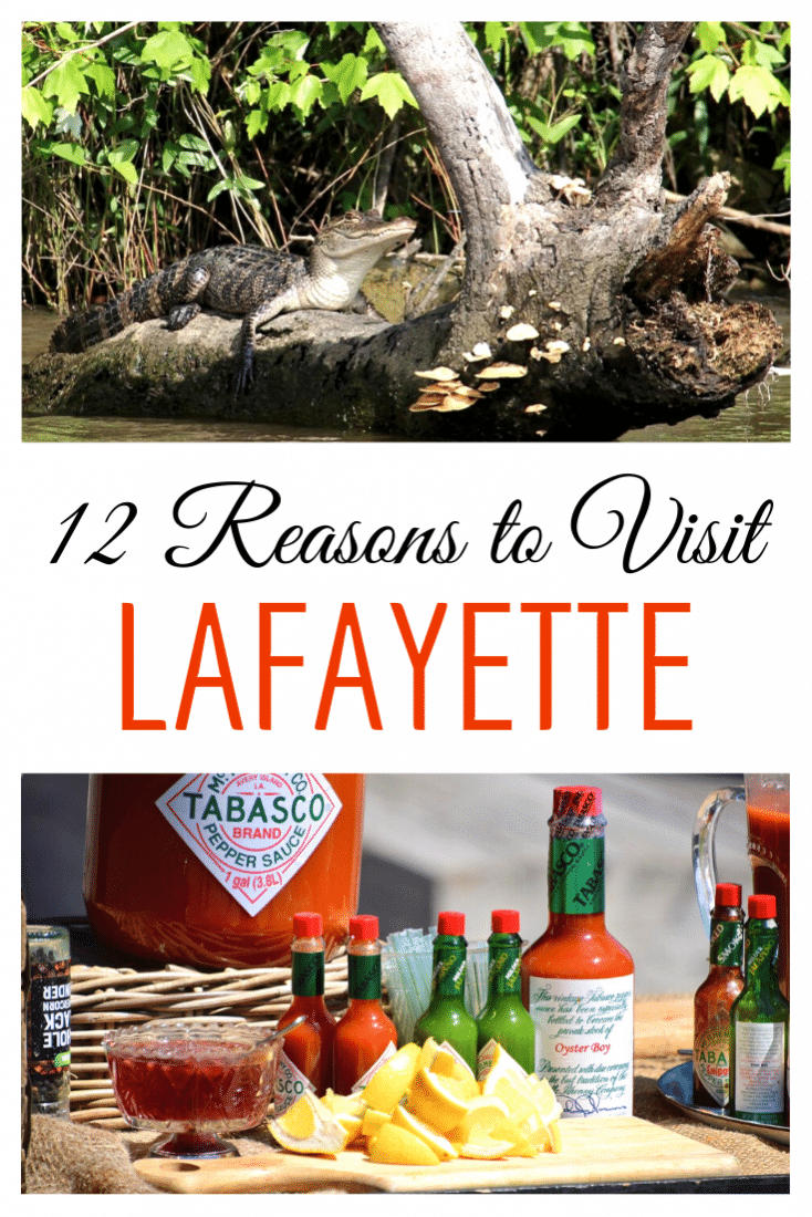 "If you're heading to New Orleans don't skip out on visiting Lafayette too!! Known as the ""heart of the Cajun country"" this city has a lot to offer. Swamps, music, delicious food, and more! Here are 12 awesome things to do in Lafayette Louisiana!"